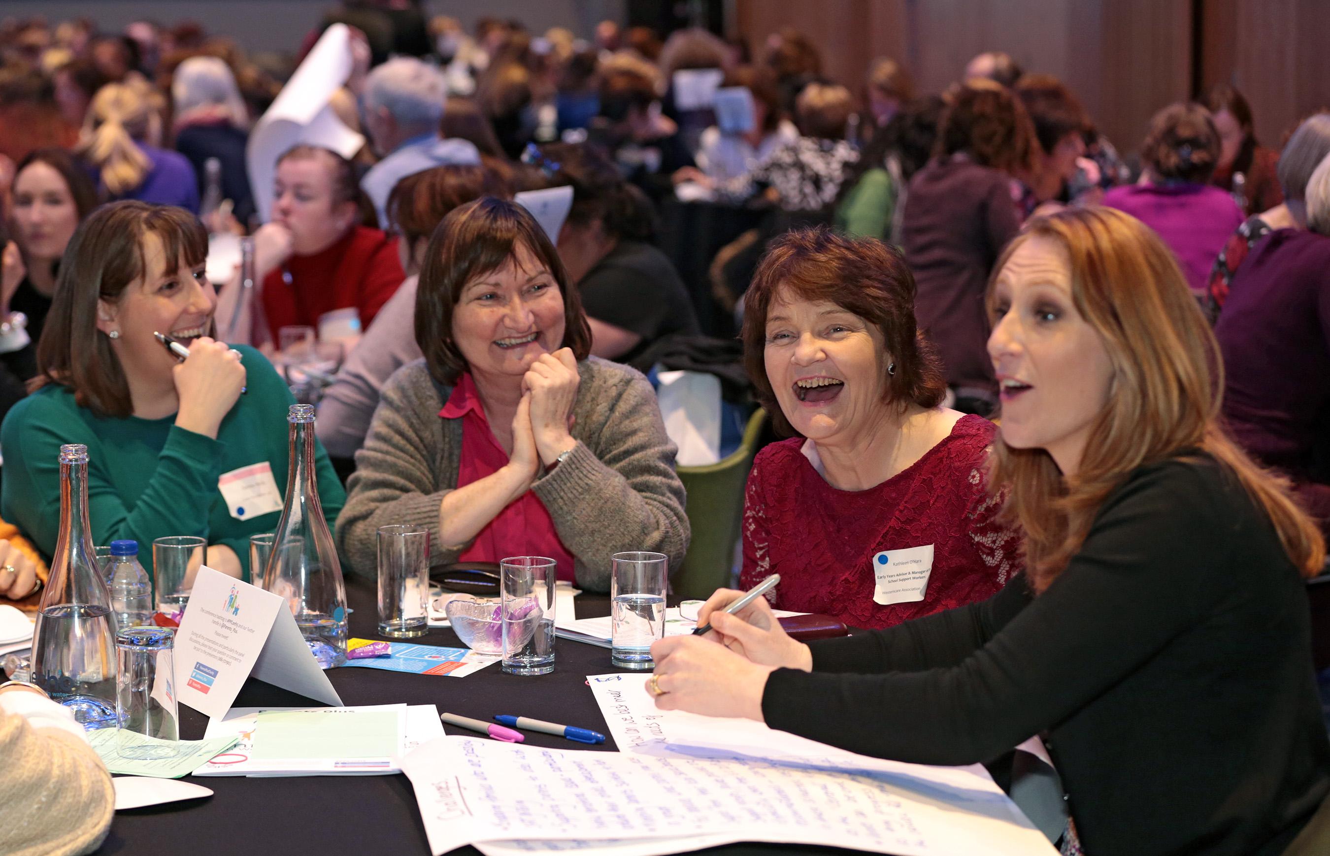 Facilitators at conference